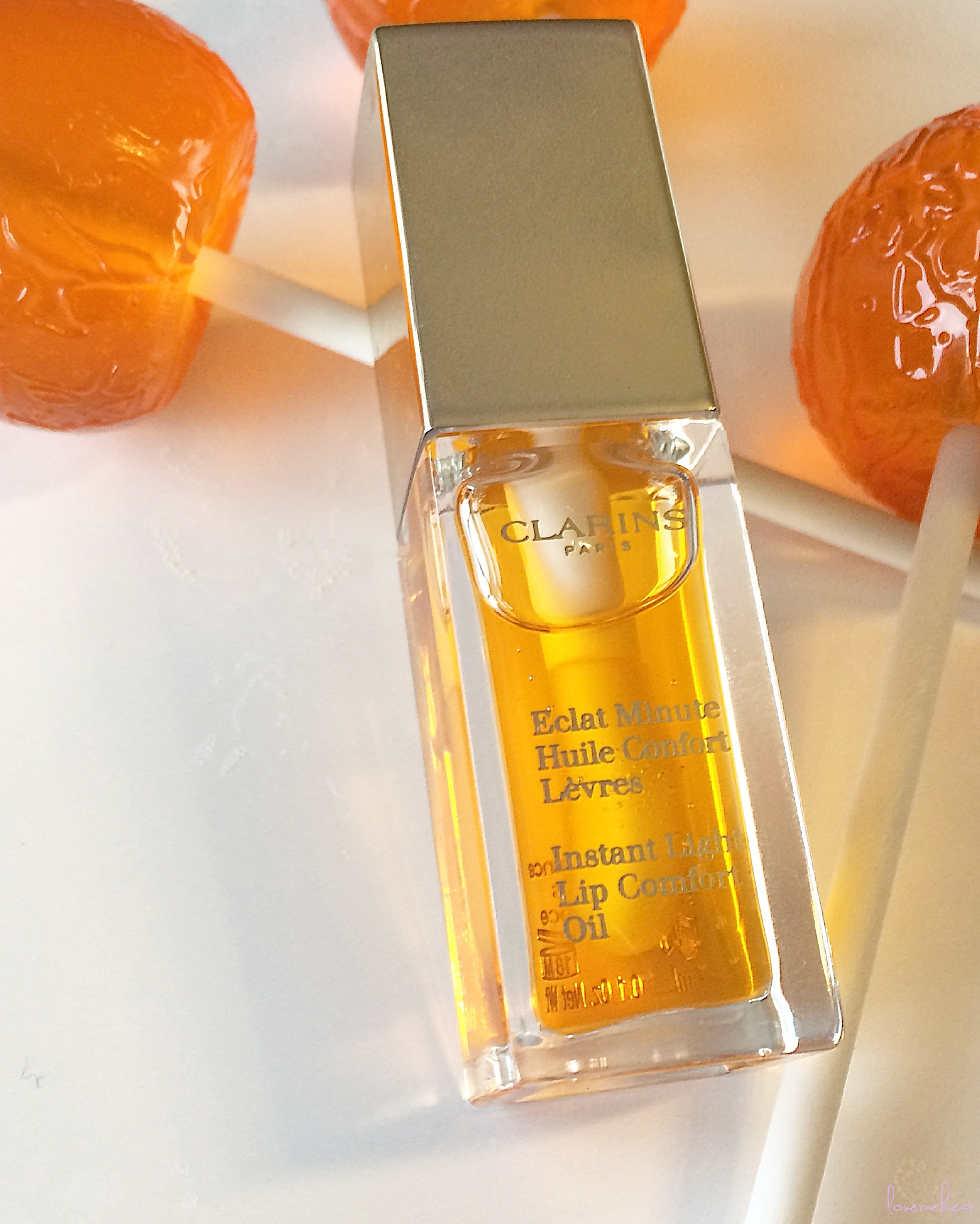 clarins instant light lip comfort oil 5